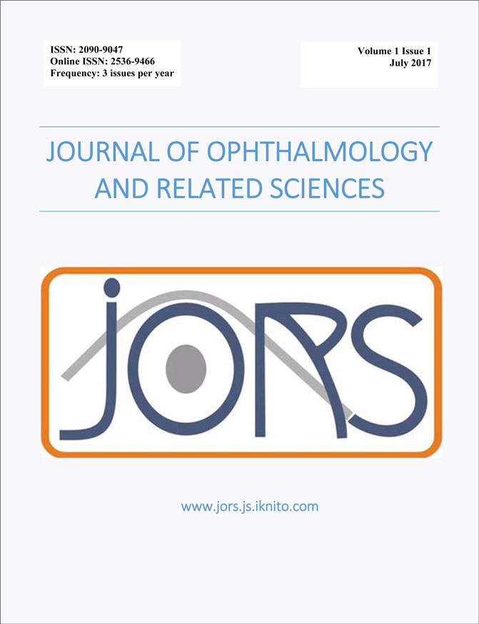 Journal of Ophthalmology and Related Sciences